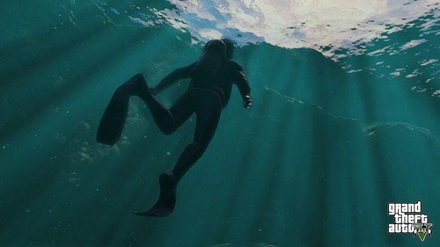 gta 5 yüzme
