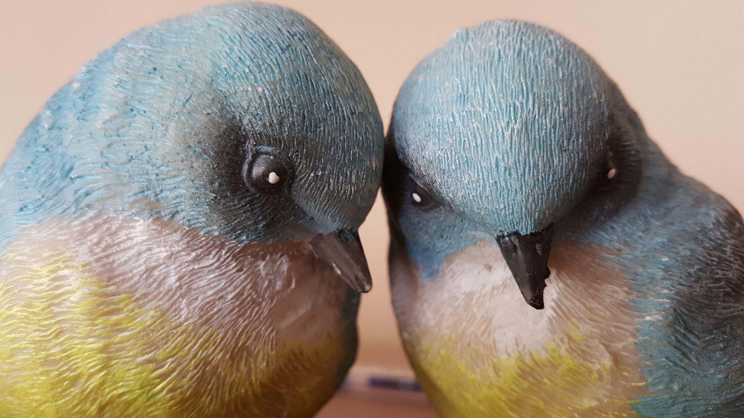 Kuş figürlerine yakın bakış