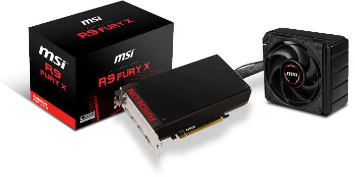 MSI R9 Fury X 4G