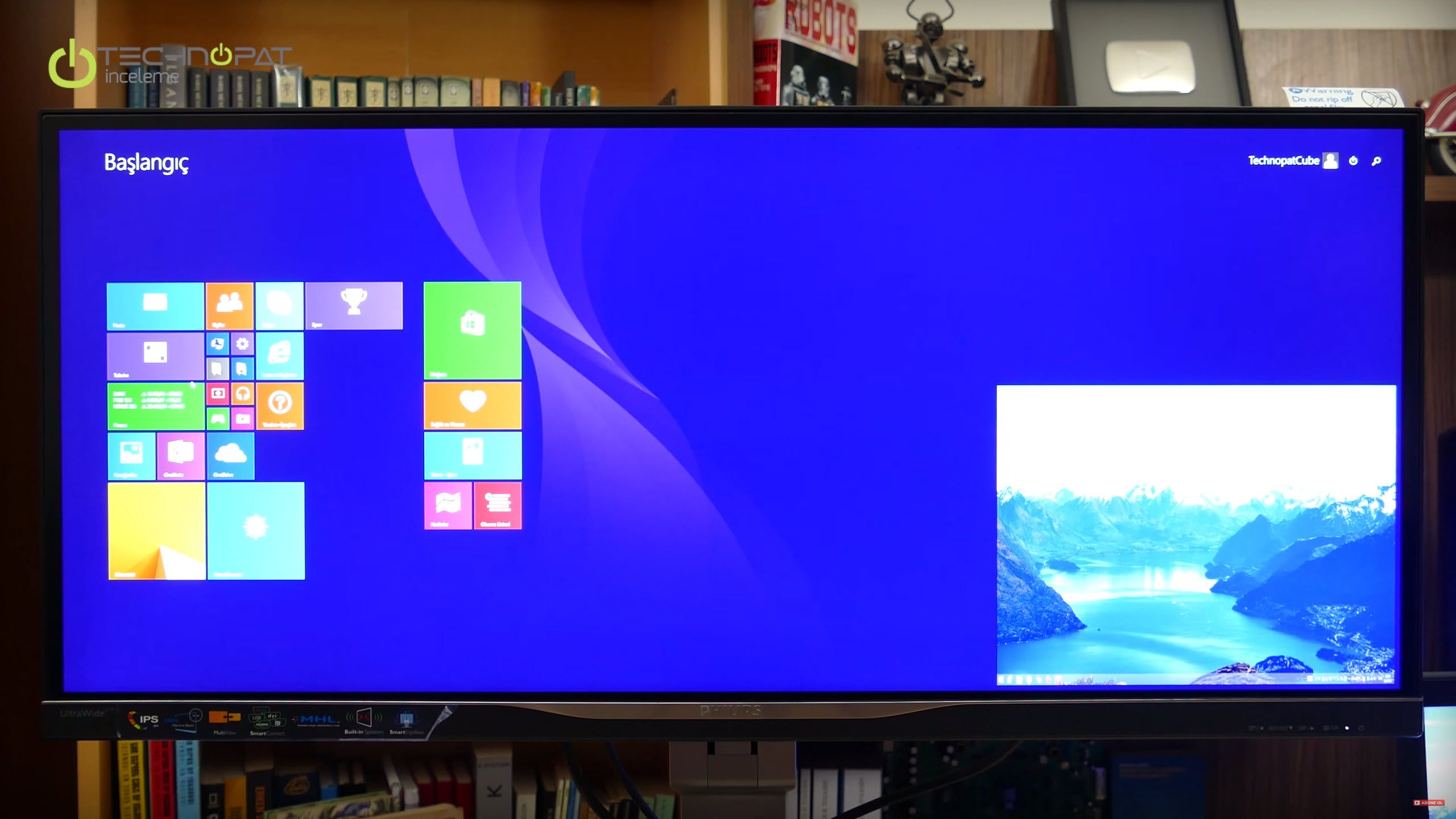 Philips Brilliance Ultra Wide BDM 3470 Monitör İncelemesi