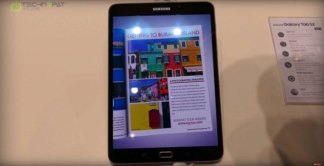 Galaxy Tab S2 8 inç Ön İnceleme - IFA 2015
