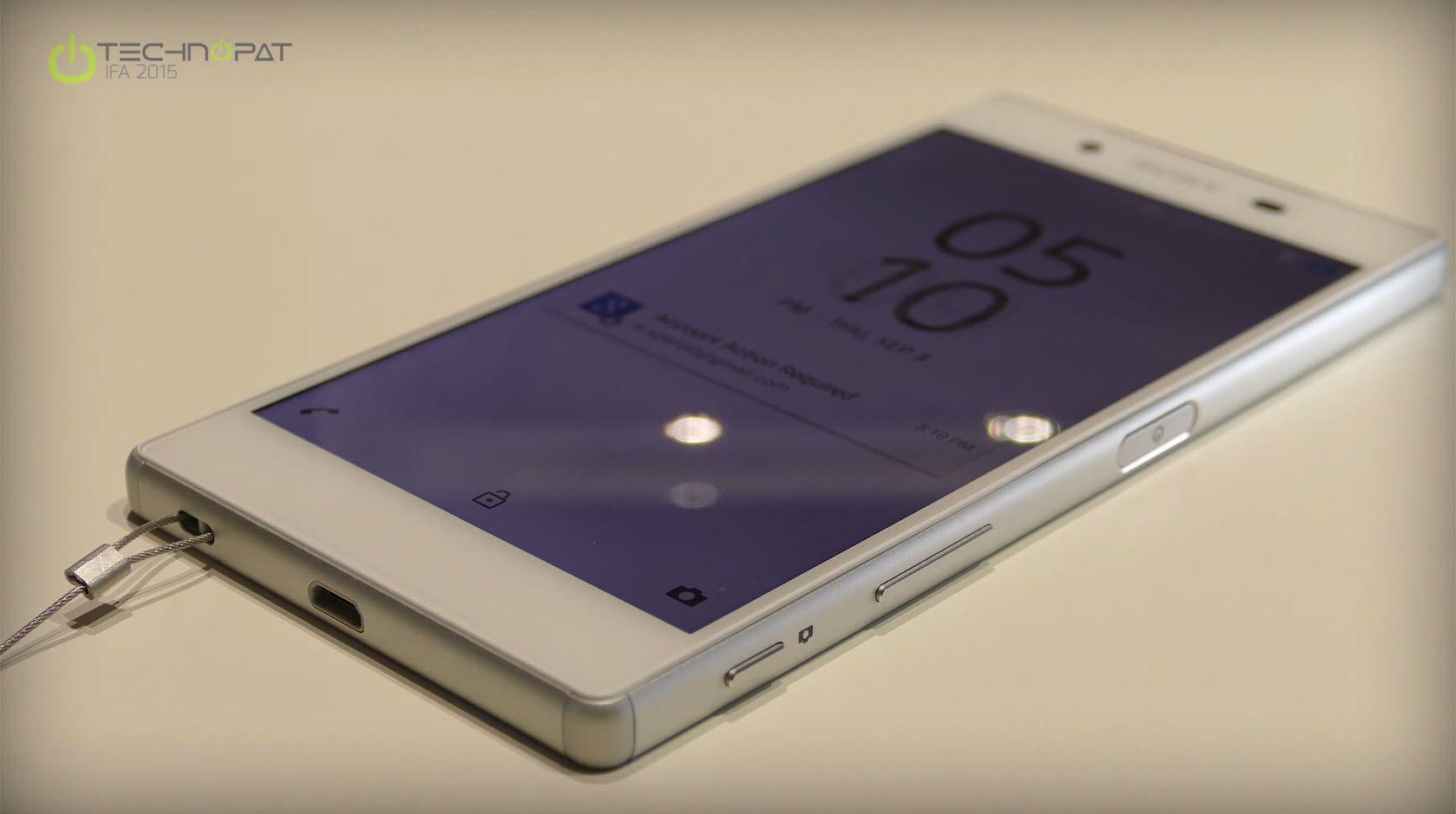 Sony Xperia Z5 Ön İnceleme - IFA 2015