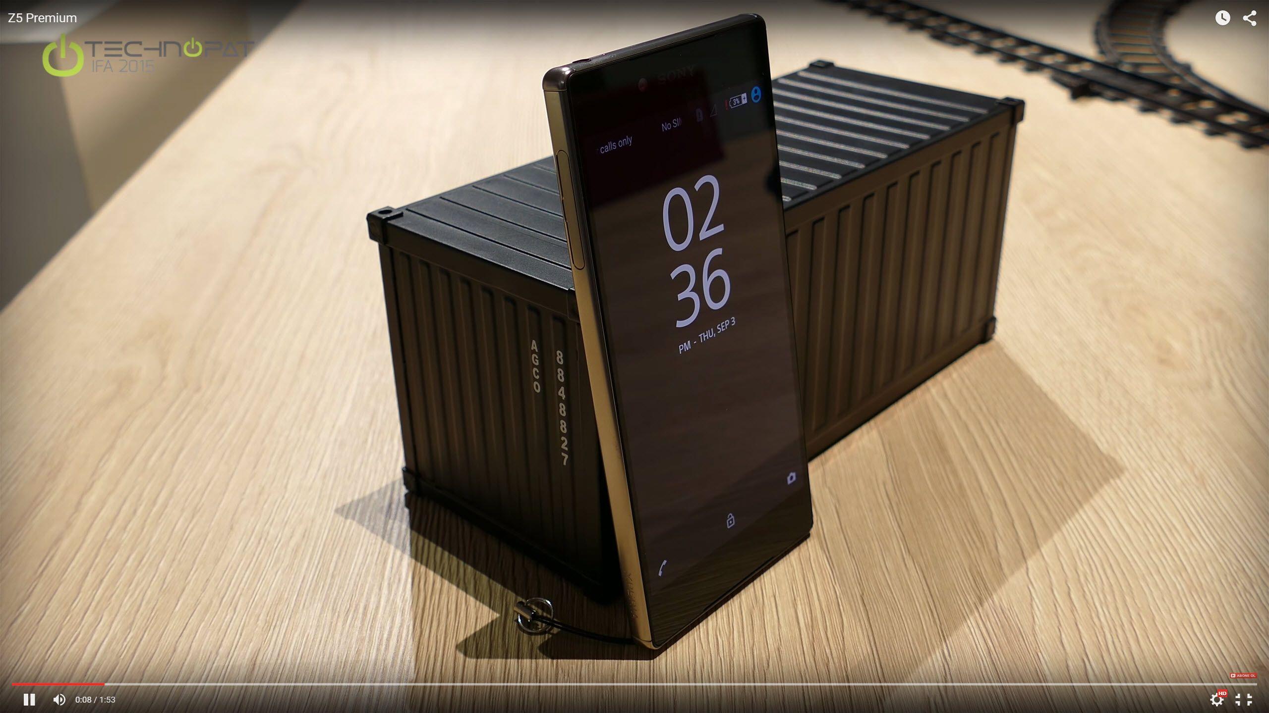 Sony Xperia Z5 Premium ön inceleme