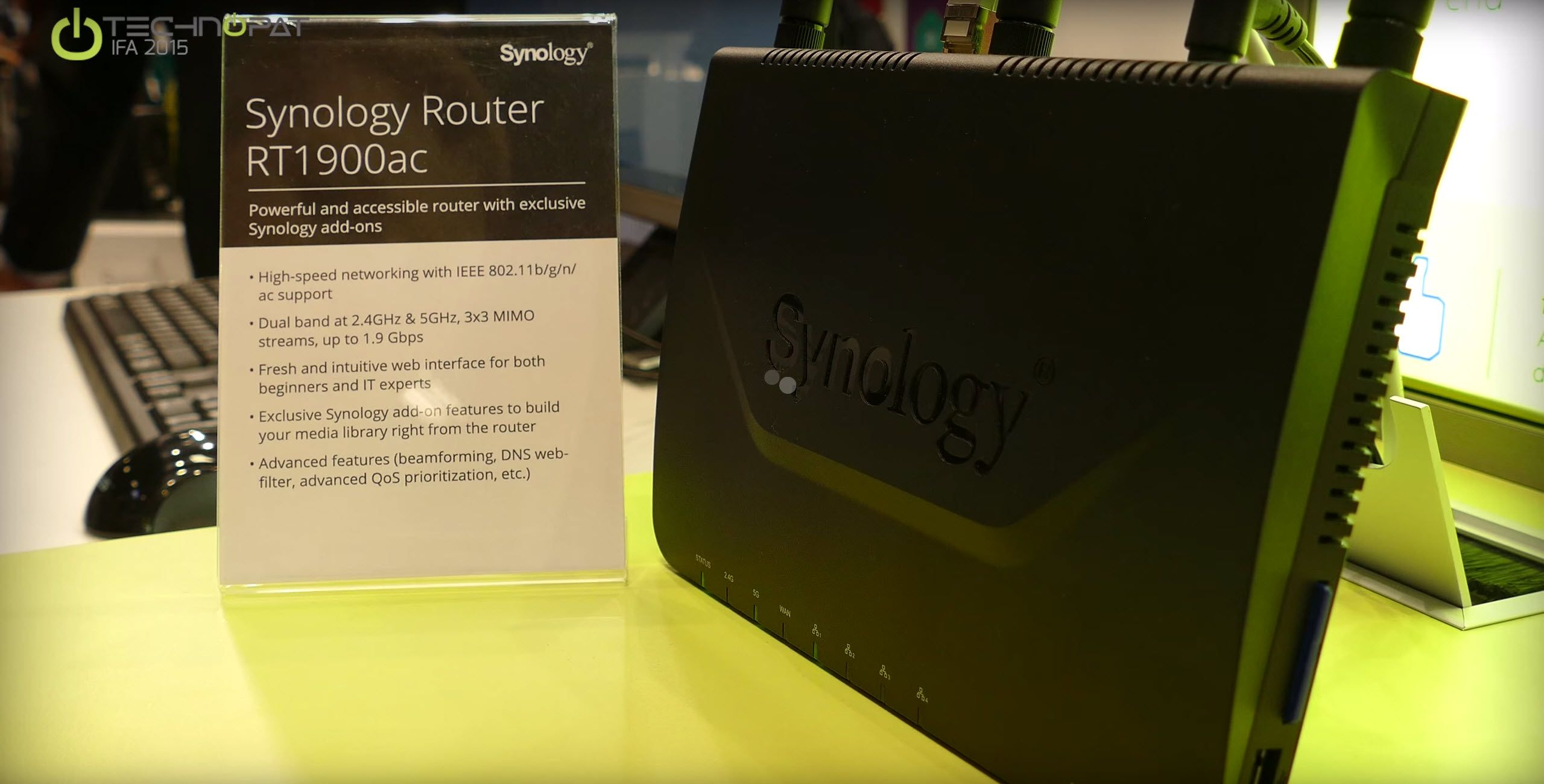 Synology AC1900RT Router