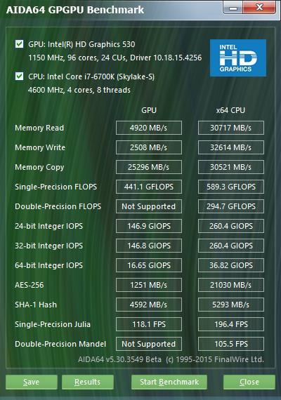 GPGPU 6700K