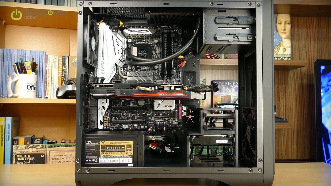 R9 390X PC Toplama DS200 Kasa