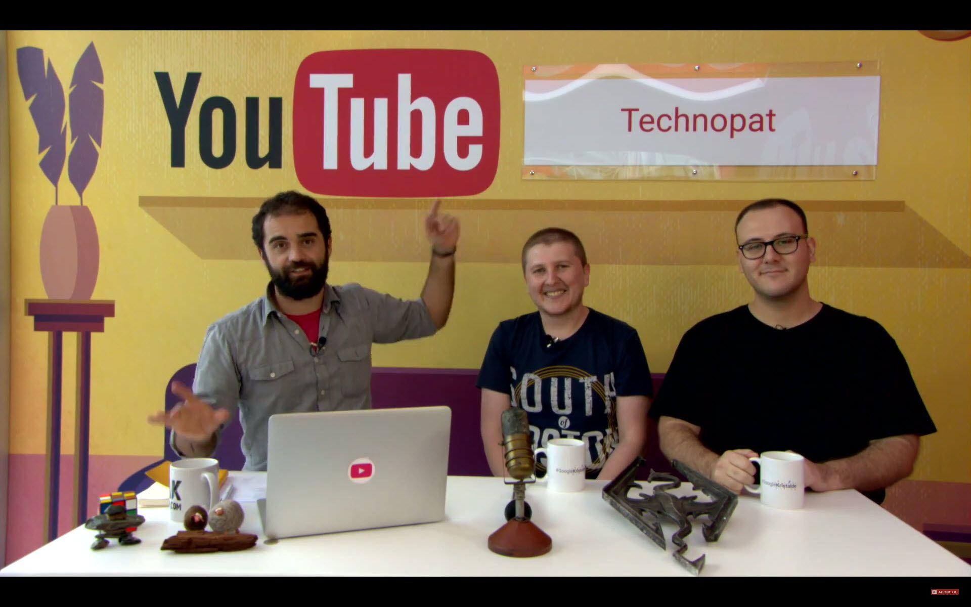 Technopat - Kristal Elma Youtube Stüdyo Canlı Yayını