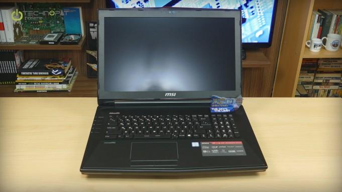 MSI GT72S 6QE Dominator Pro G - Tasarım
