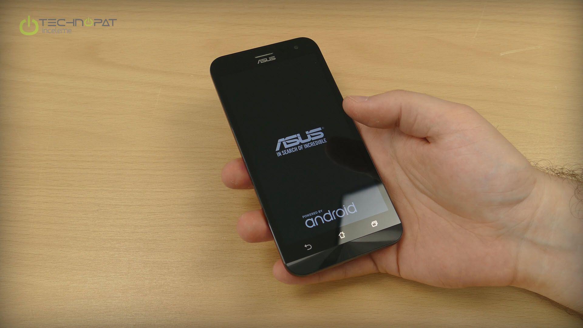 ZenFone 2 Laser - 5 İnç tek el kullanım