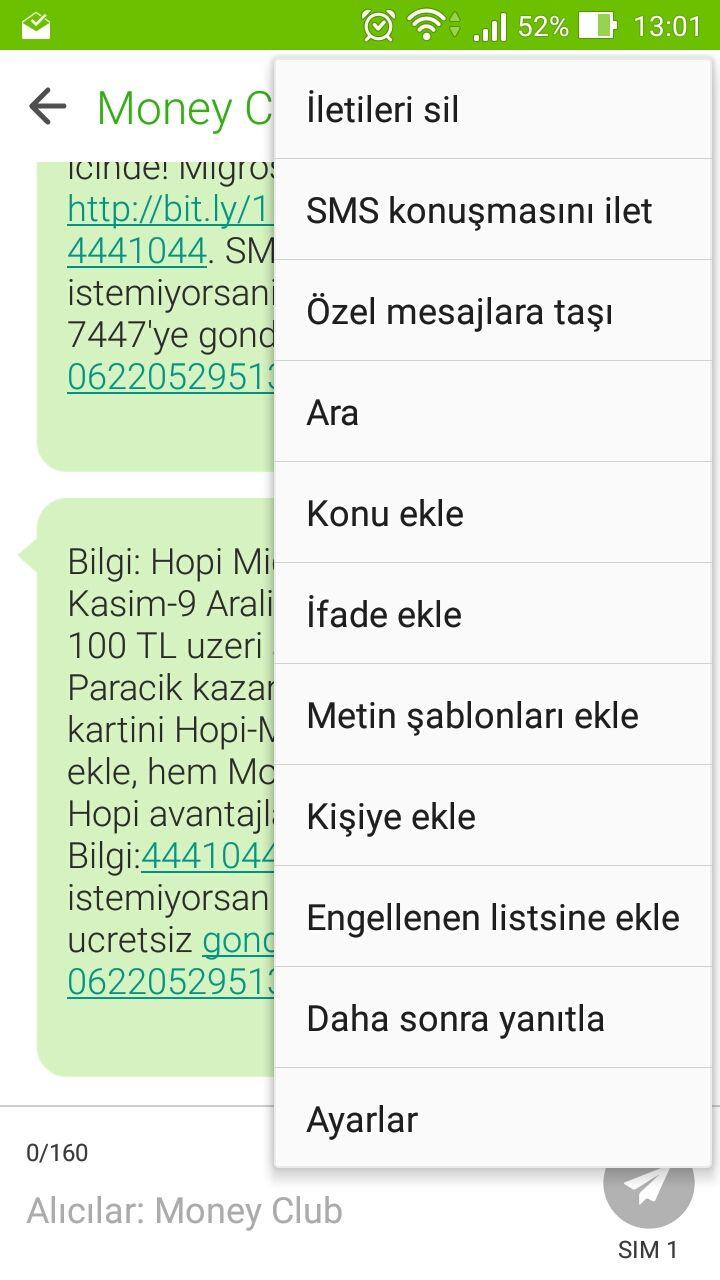 ZenUI kullanan ZenFone telefonlarda SMS ya da arama engellemek için ayarlara bu şekilde ulaşabilirsiniz