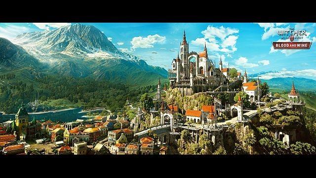 Witcher 3 Beauclair Şatosu