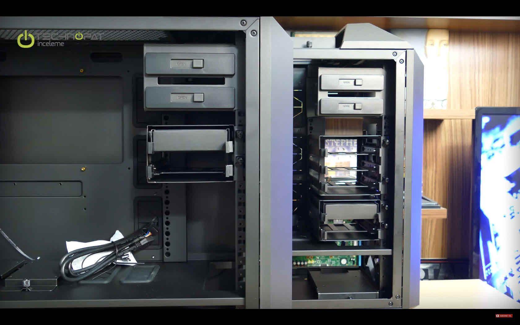 Cooler Master MasterCase Pro 5 ve MasterCase 5 kasalarını inceliyor, karşılaştırıyoruz...
