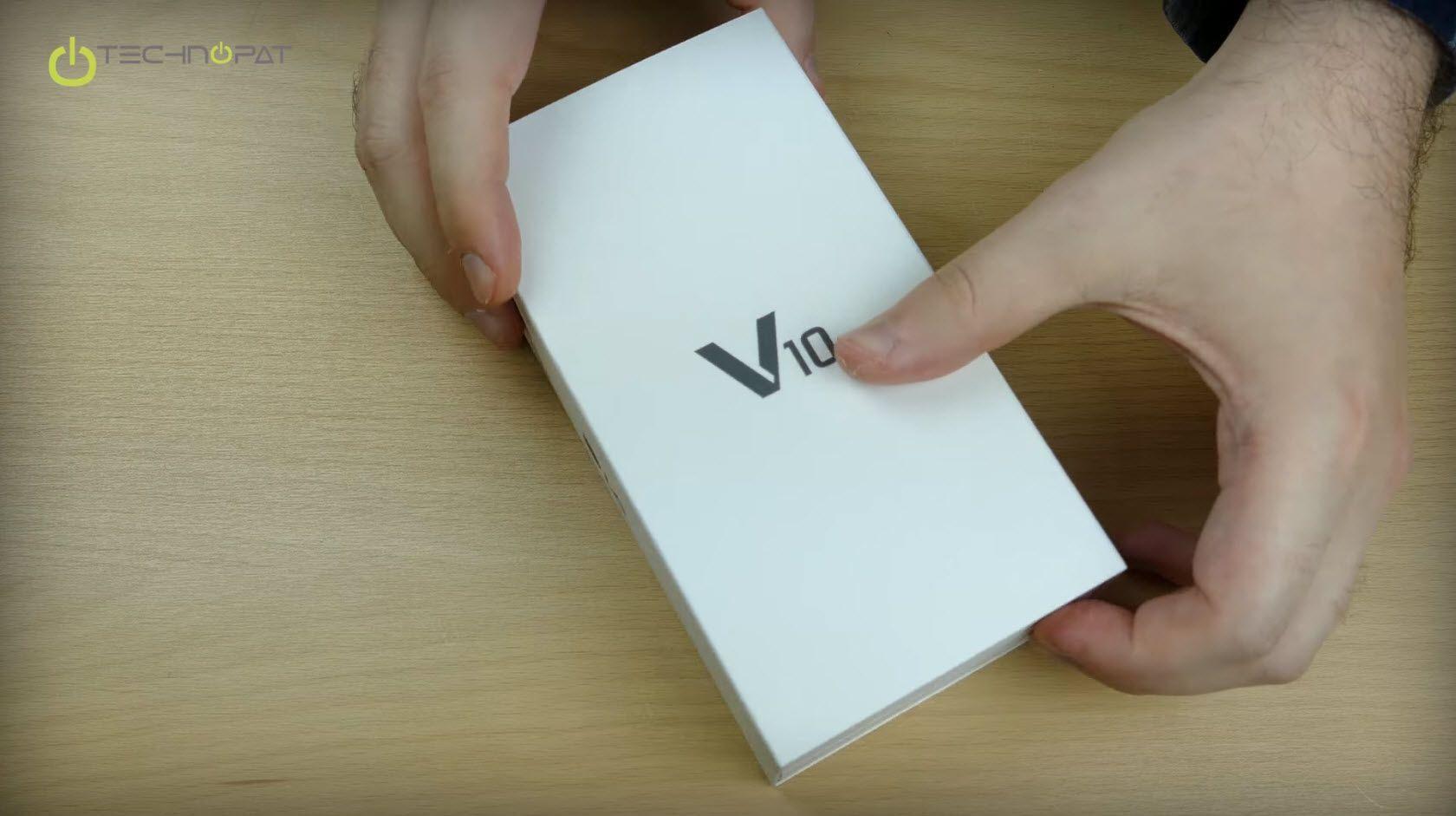 LG V10 Kutu tasarımı