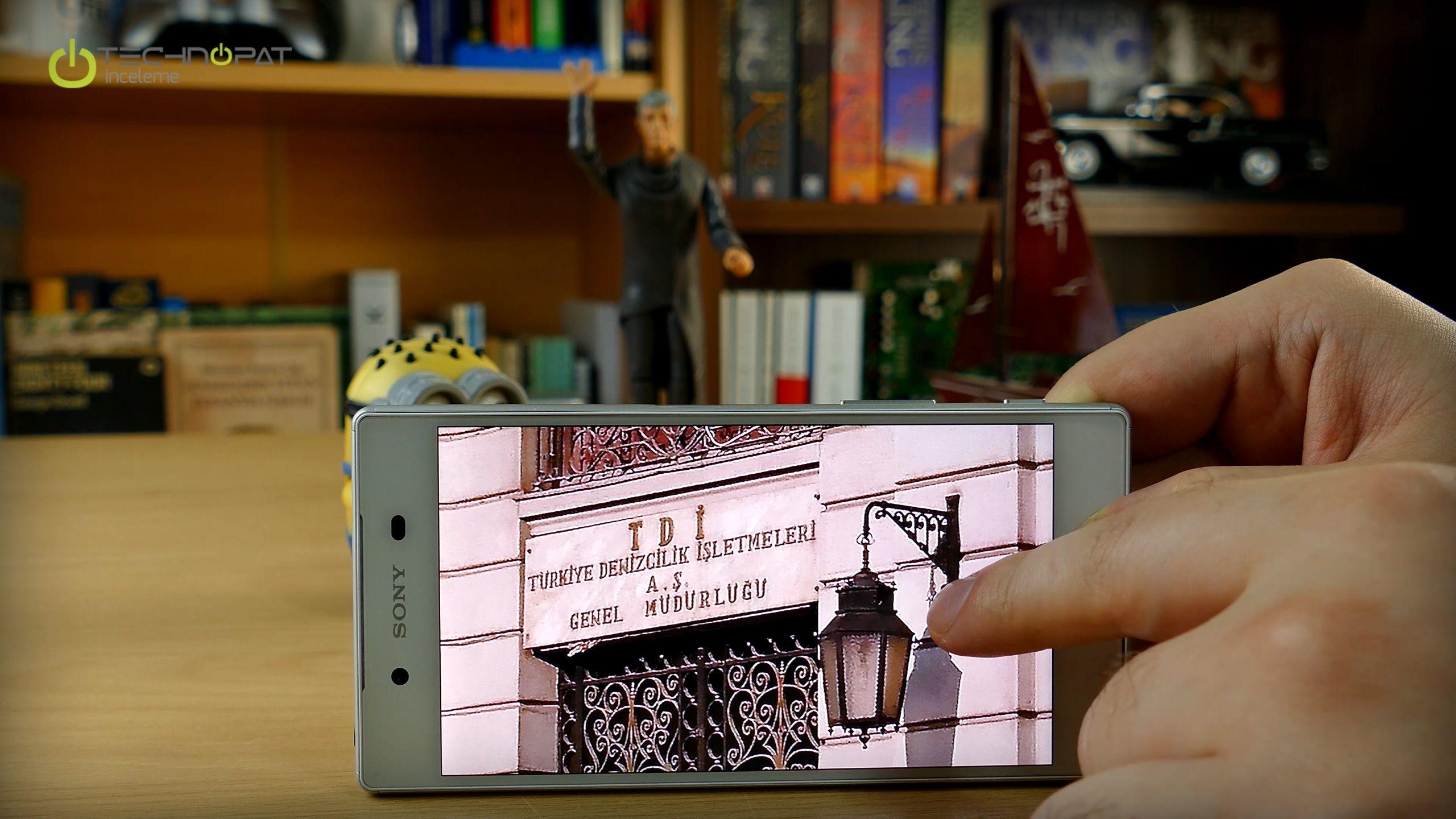 Xperia Z5 - Dijital zoom yaptığınızda pikseller arası keskinlik yerine bir suluboya efekti gibi piksellerin kaynaştırıldığını görüyorsunuz