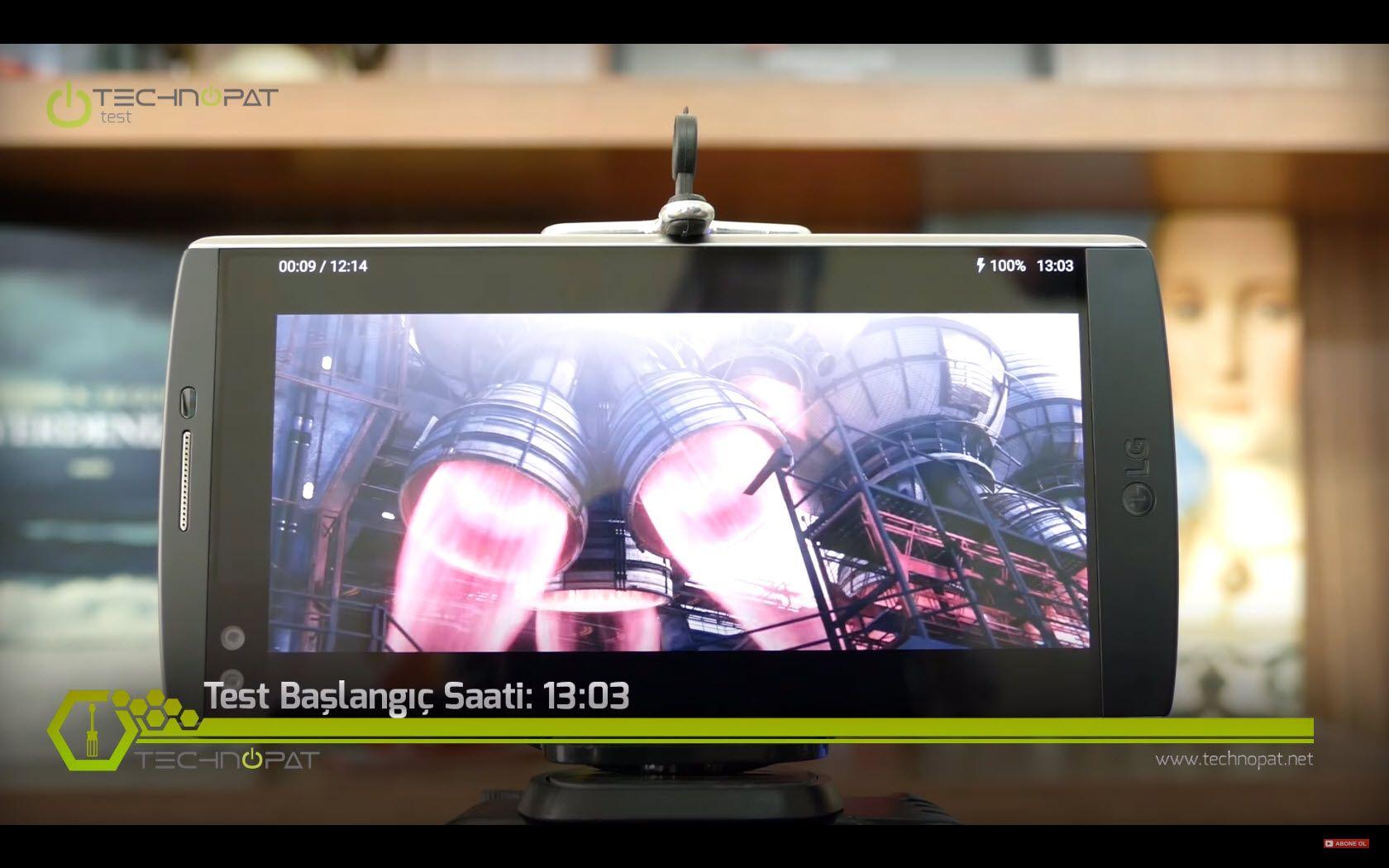 LG V10 Batarya ve Şarj Testi