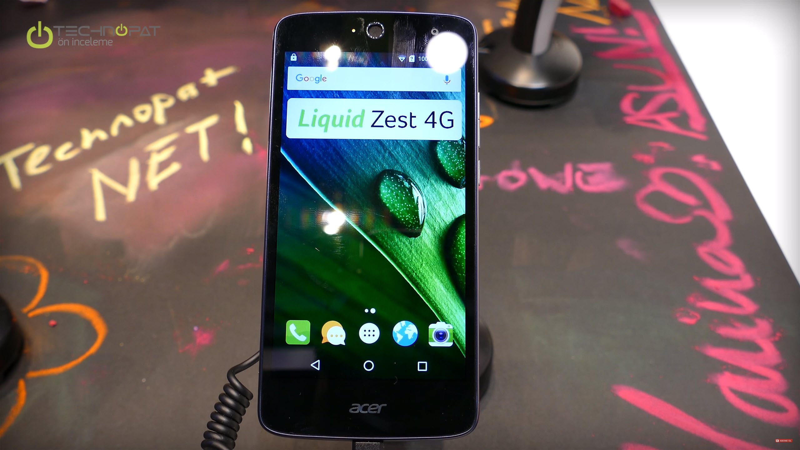 Acer Liquid Zest 4G Ön İnceleme - MWC 2016