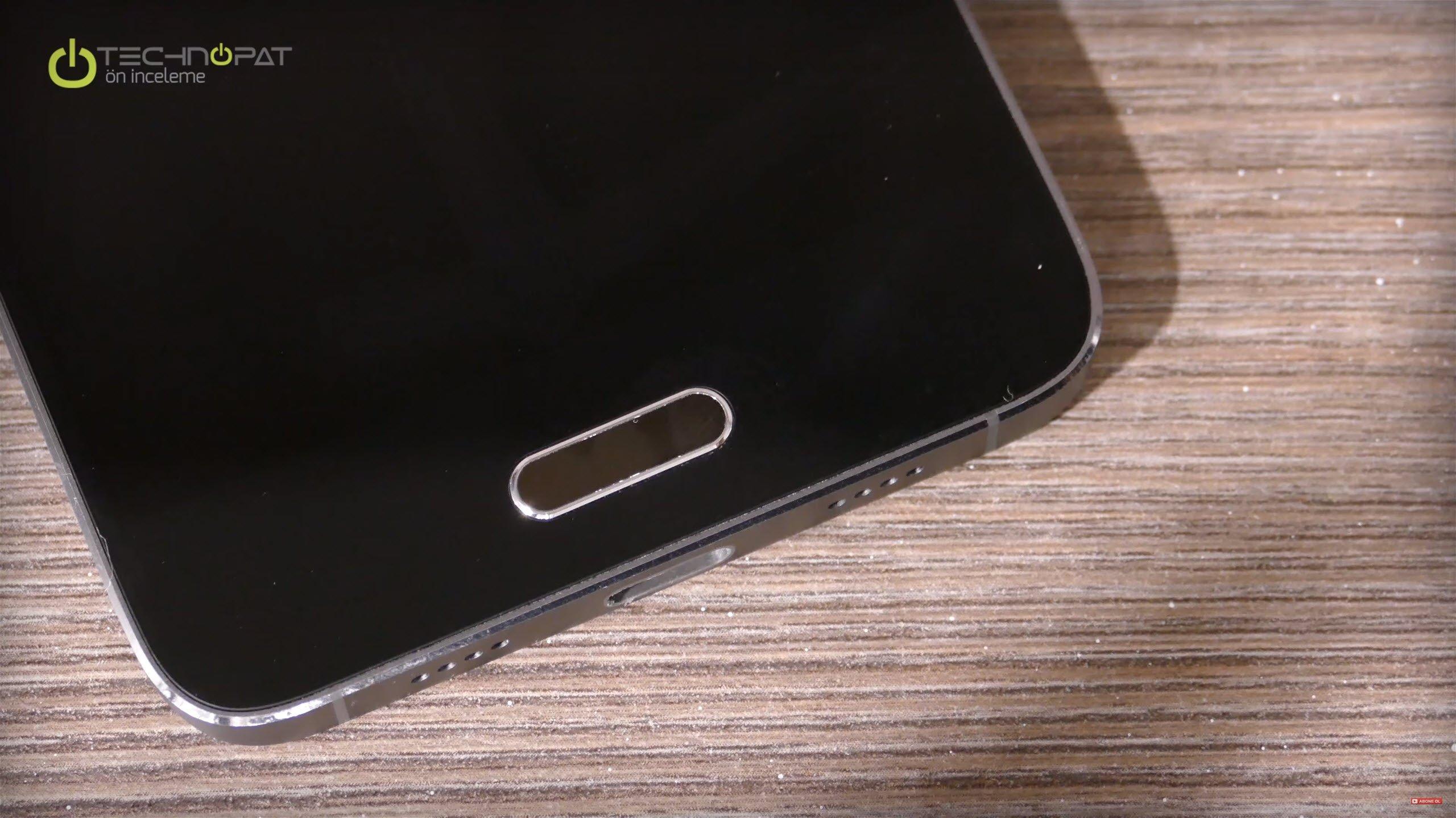Xiaomi Mi 5 Pro: Parmak izi okuyucu