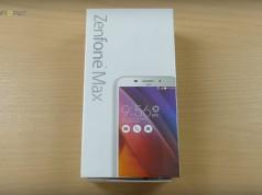 Zenfone Max Fiyatı ve Kutu İçeriği