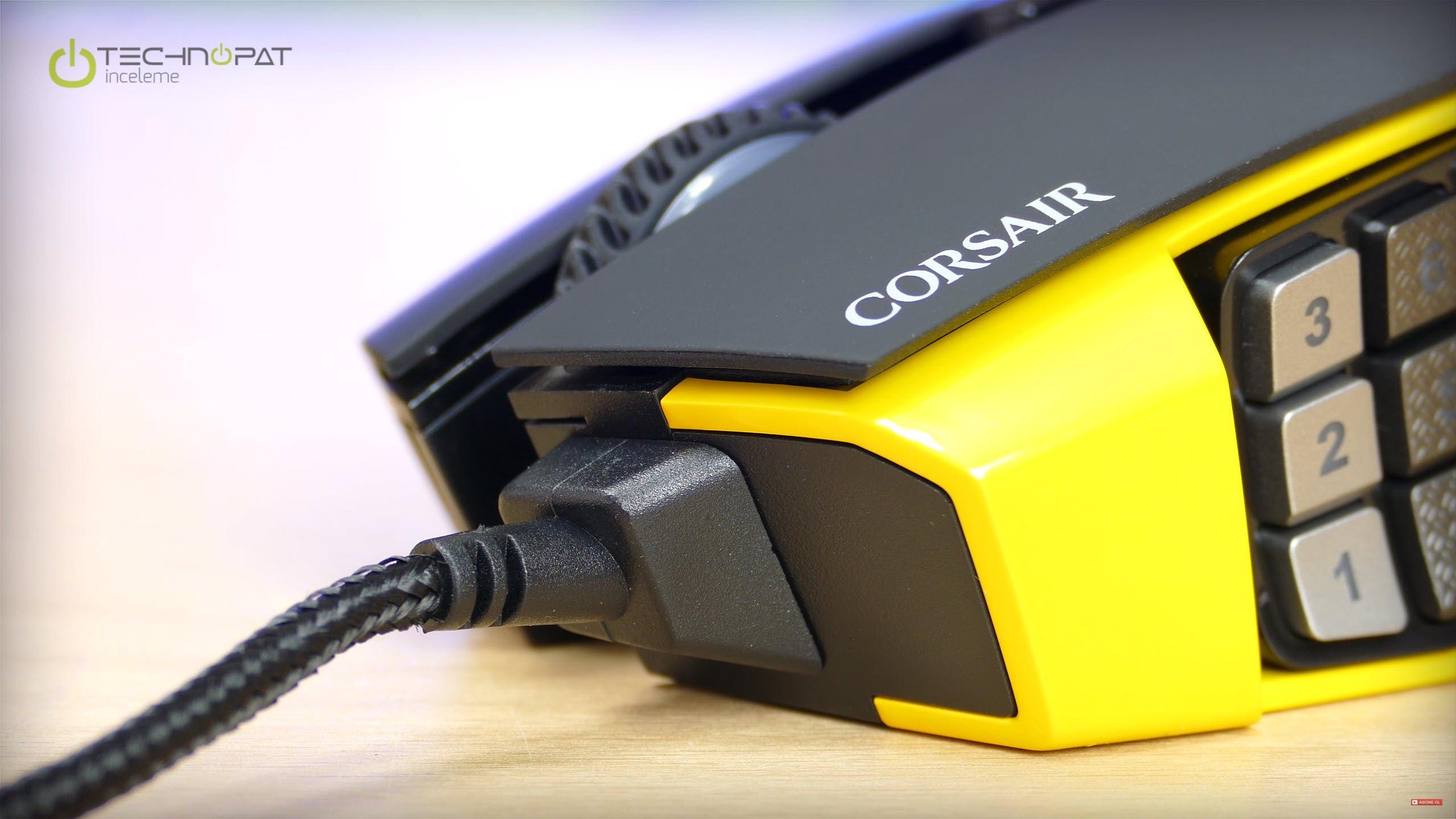 Corsair Scimitar RGB Oyuncu Faresi İncelemesi