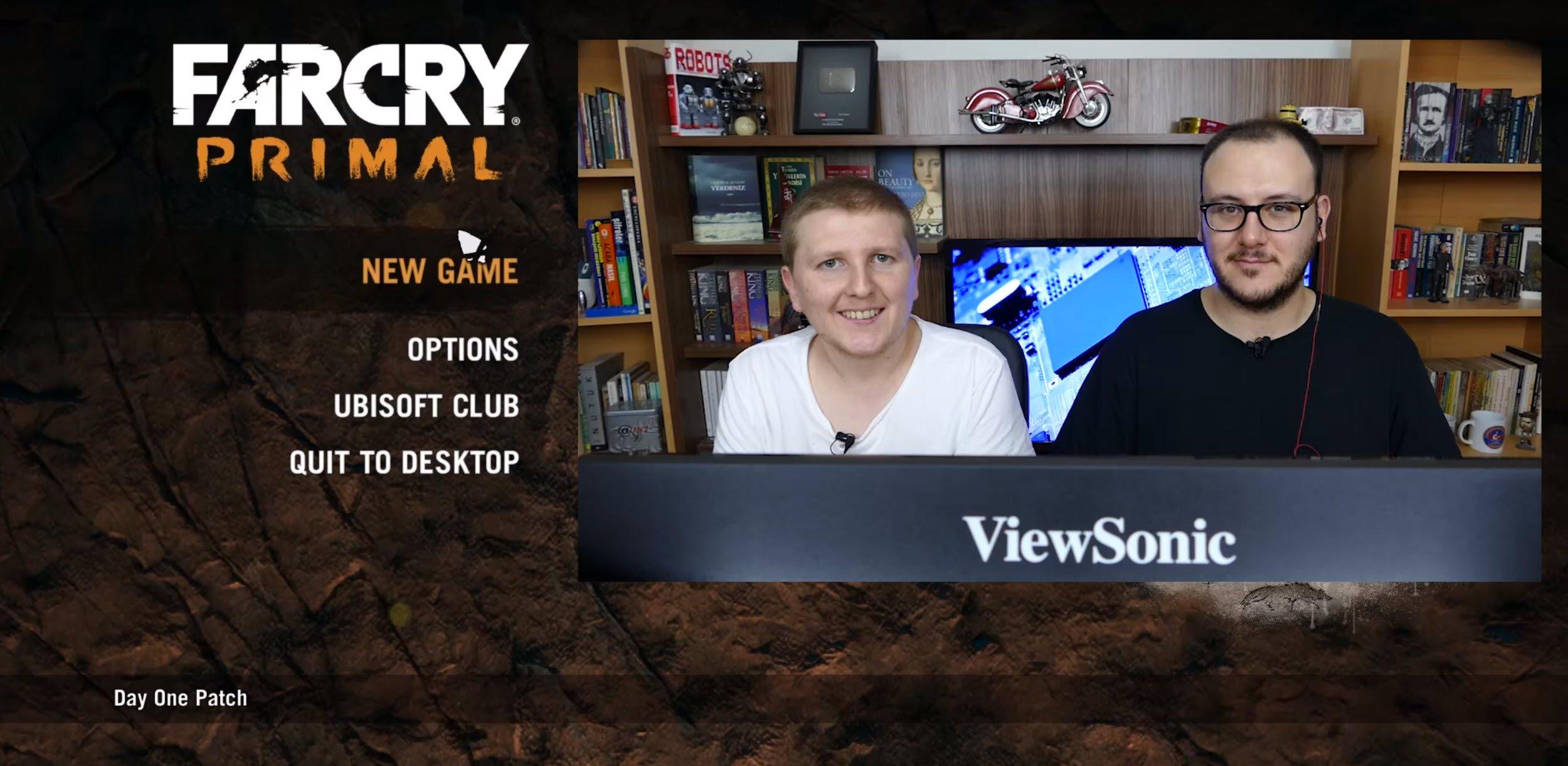Far Cry Primal Oynuyoruz - Kaplan mı o?
