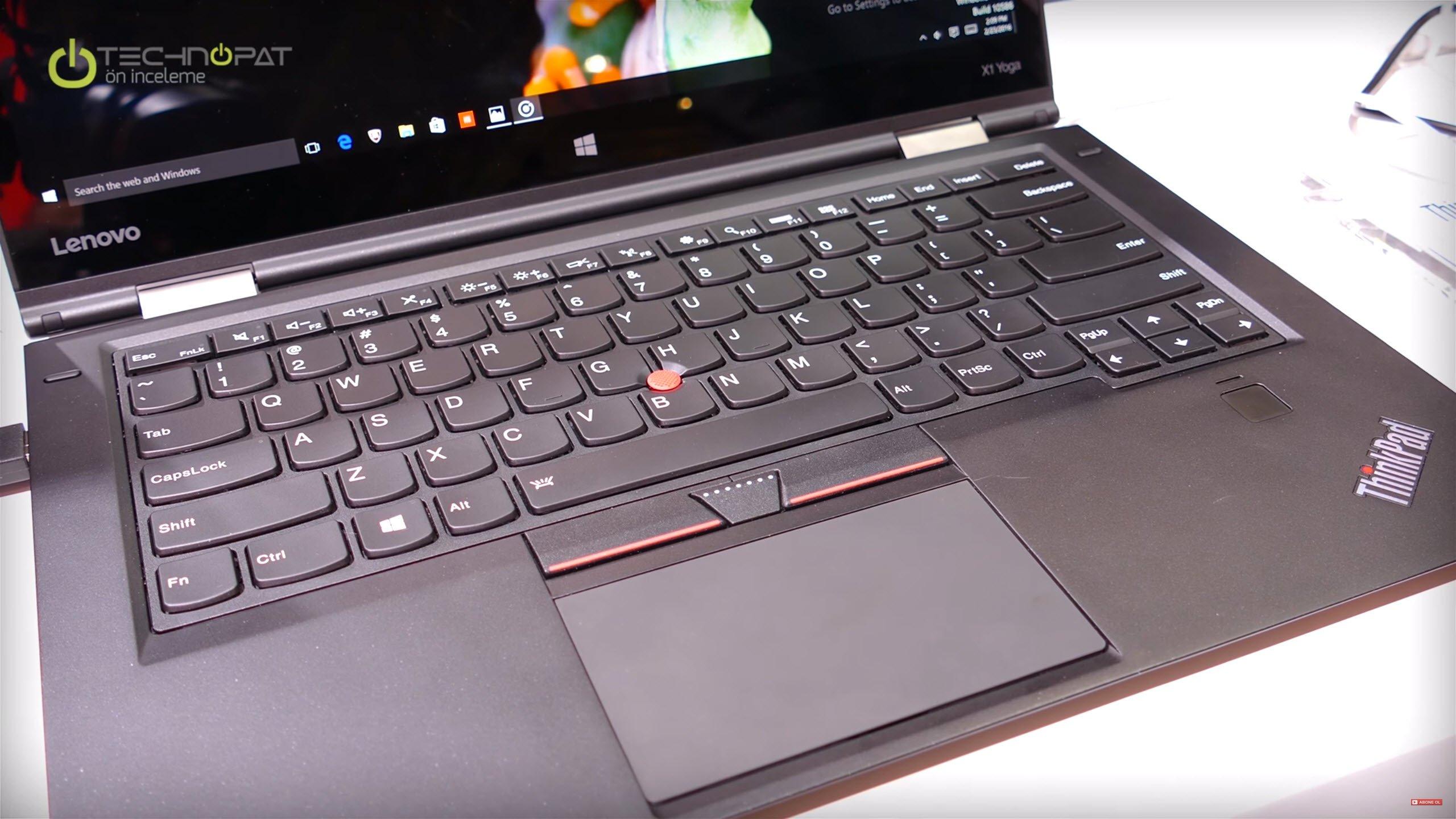 Lenovo X1 Yoga Ön İnceleme