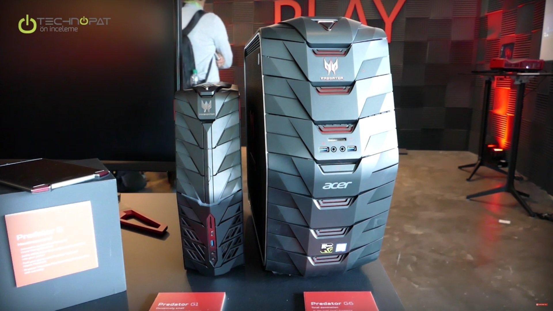 Acer Predator G1 Oyuncu Bilgisayarı: Ön İnceleme