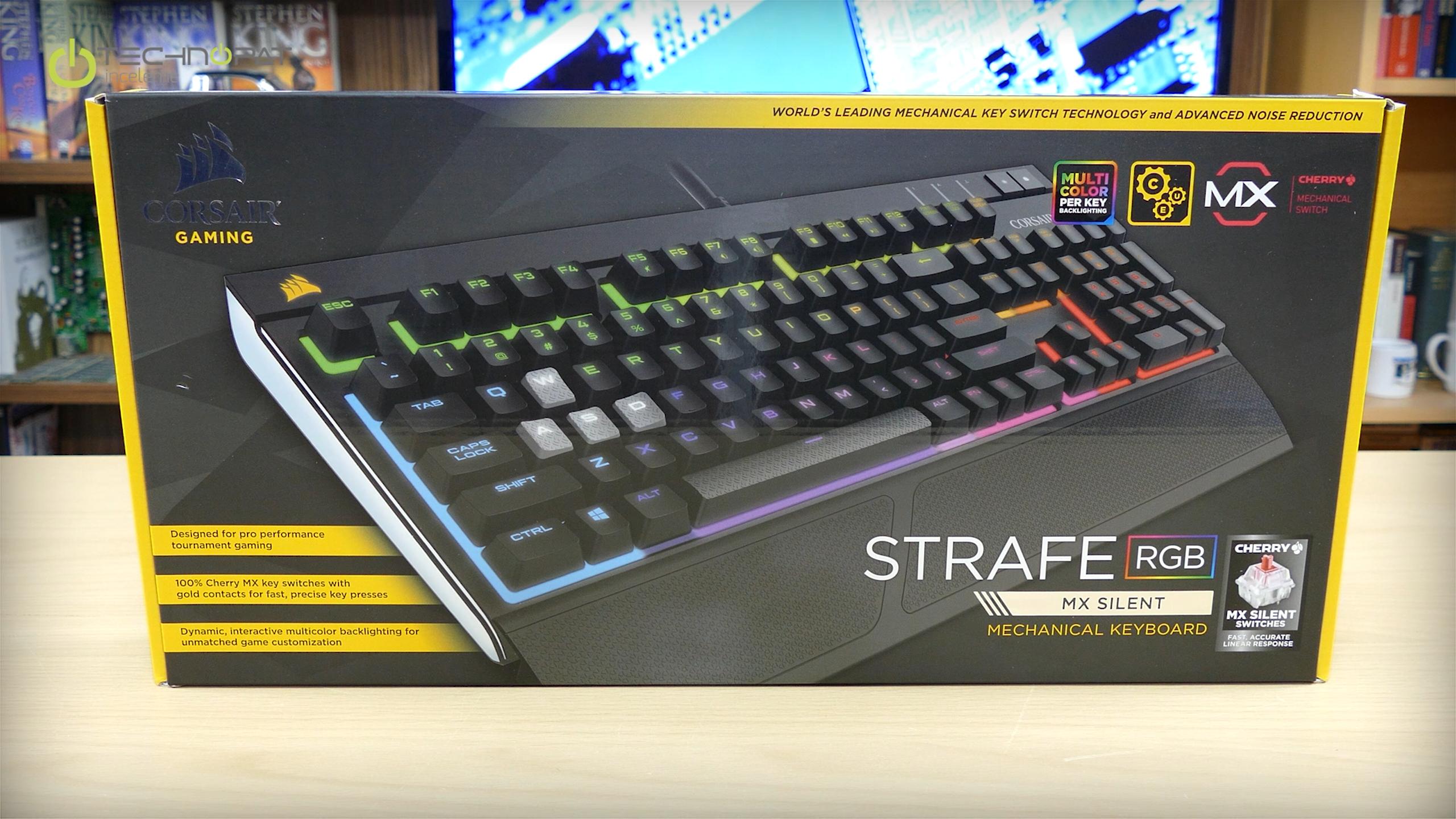 Corsair Strafe RGB - MX Silent Mekanik Oyuncu Klavyesi İncelemesi