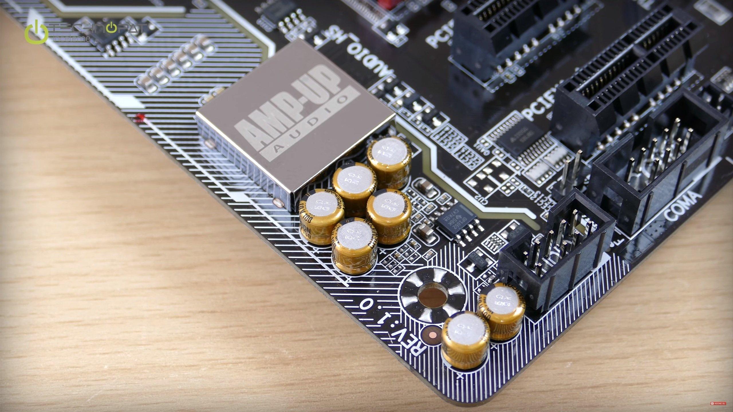 Ses yongası: Gigabyte Z170 Gaming K3 Anakart İncelemesi