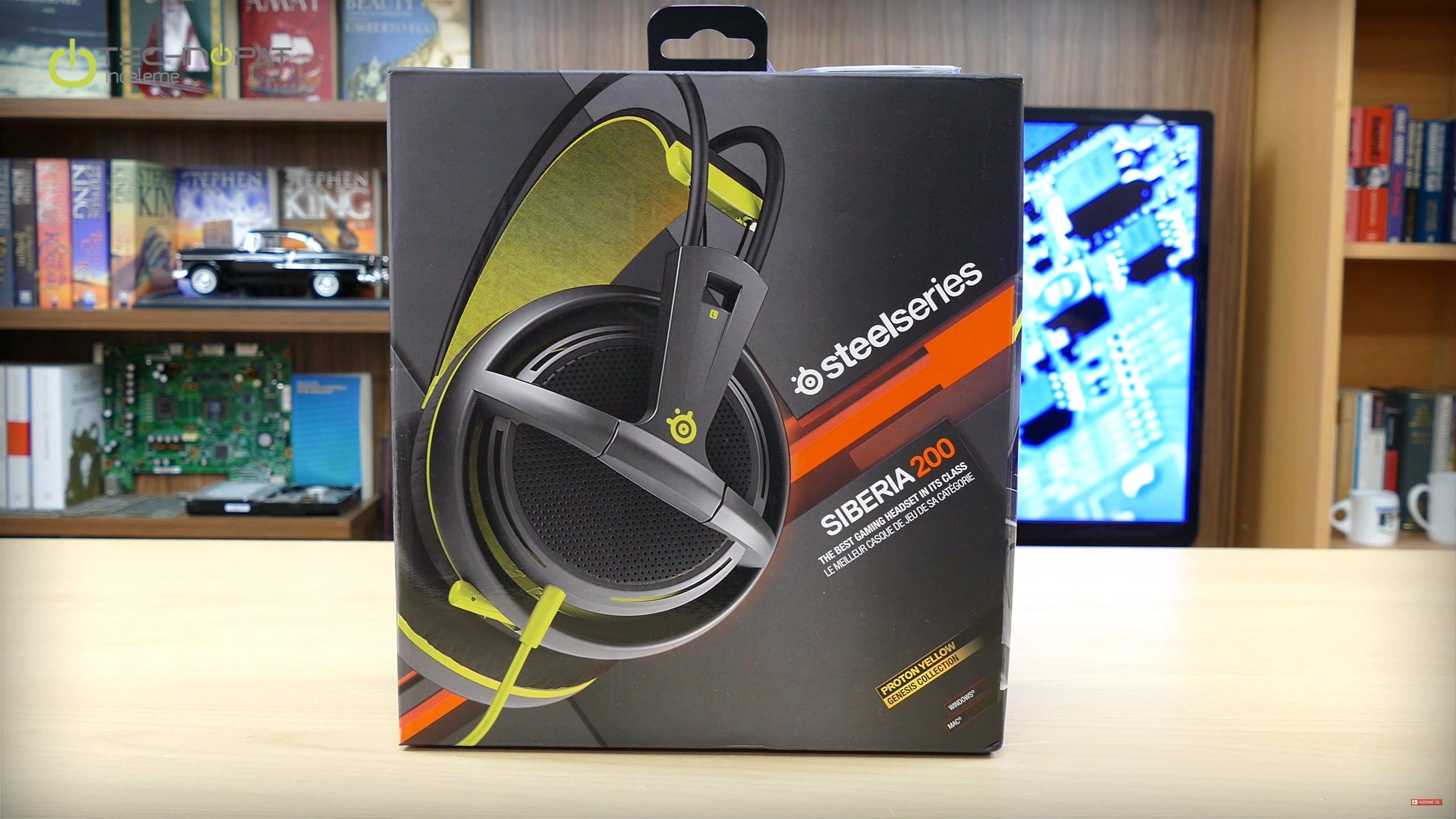 Steelseries Siberia 200 Oyuncu Kulaklığı İncelemesi