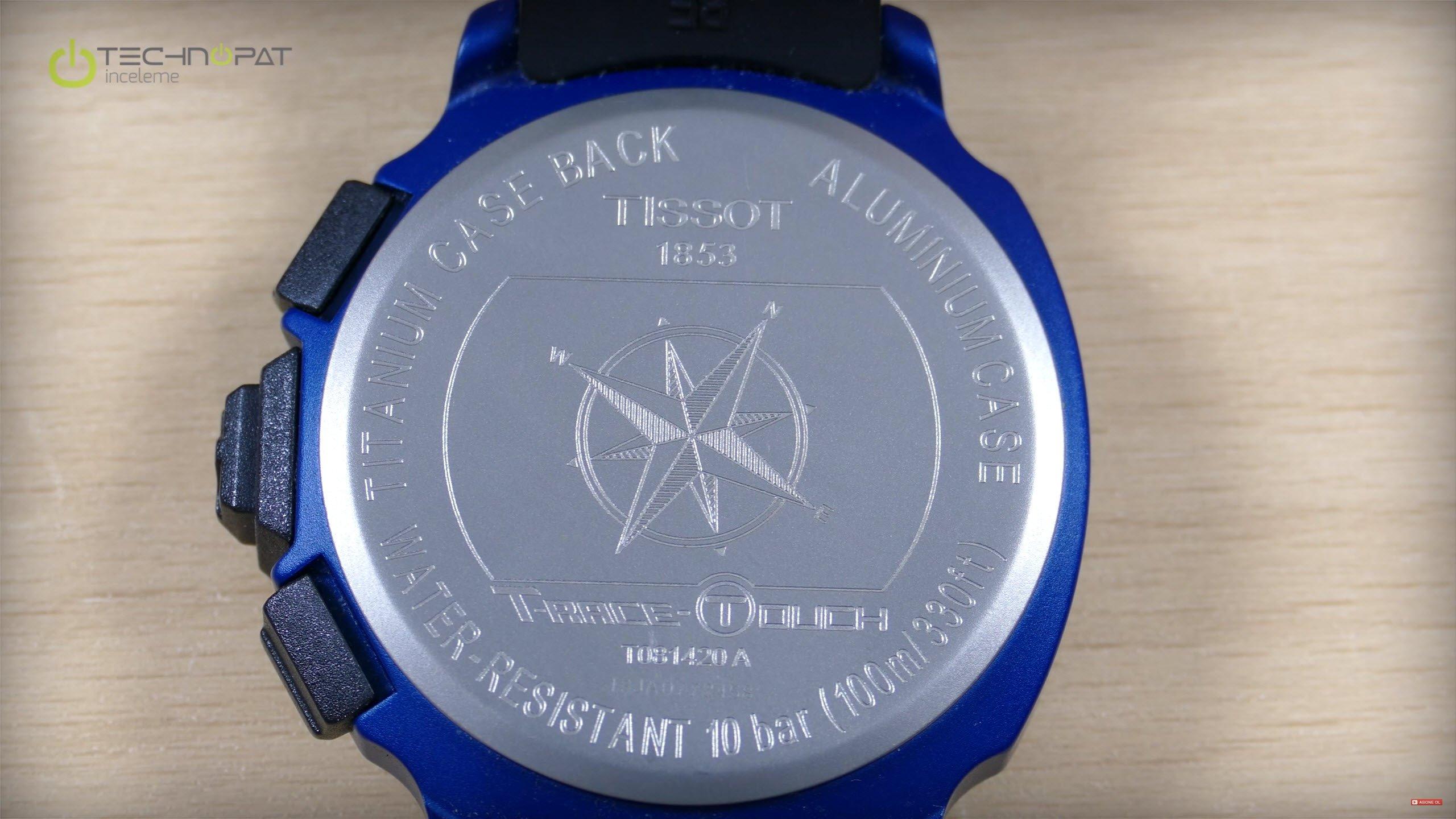 Tissot T-Race Touch İncelemesi: Titanyum alt kapak
