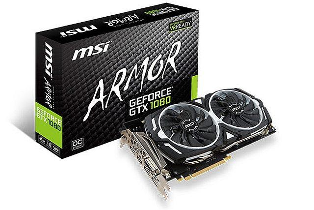 MSI GeForce GTX 1080 ARMOR 8G OC