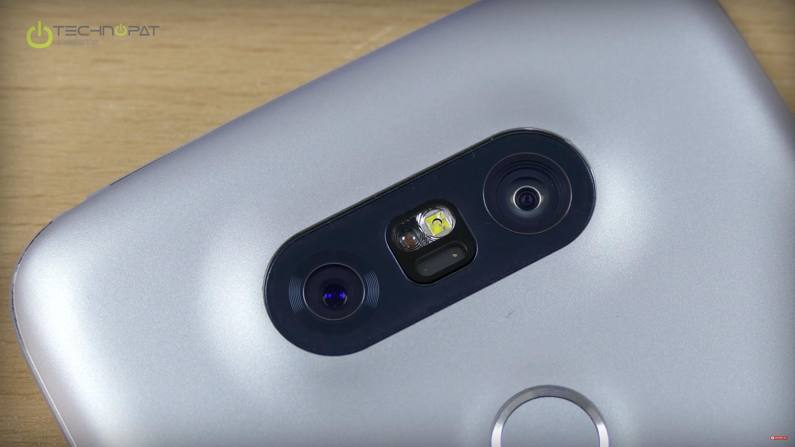 Çift kamerası ile LG G5