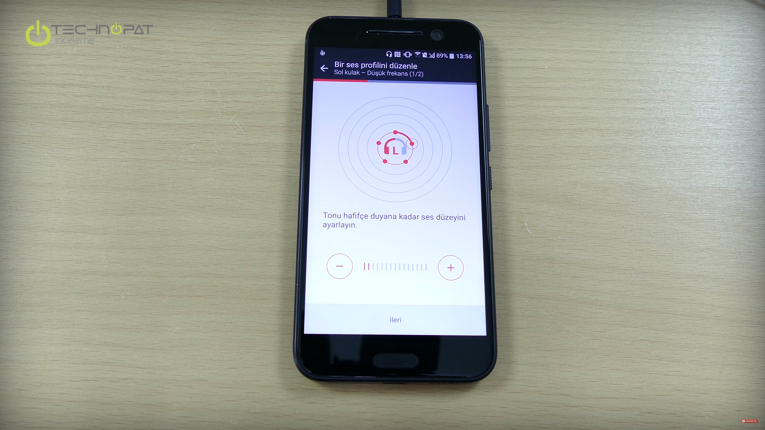 HTC 10 ile kendi kulağınıza uygun ses ayarı yapabiliyorsunuz