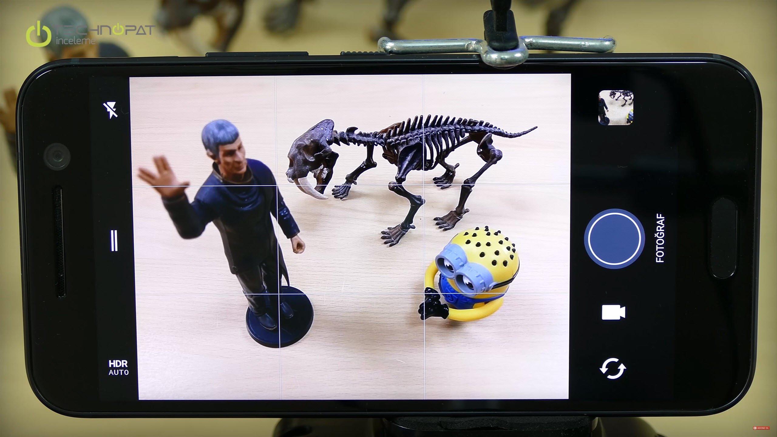 HTC 10 kamera özellikleri