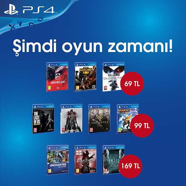 PS4 Oyun Kampanya