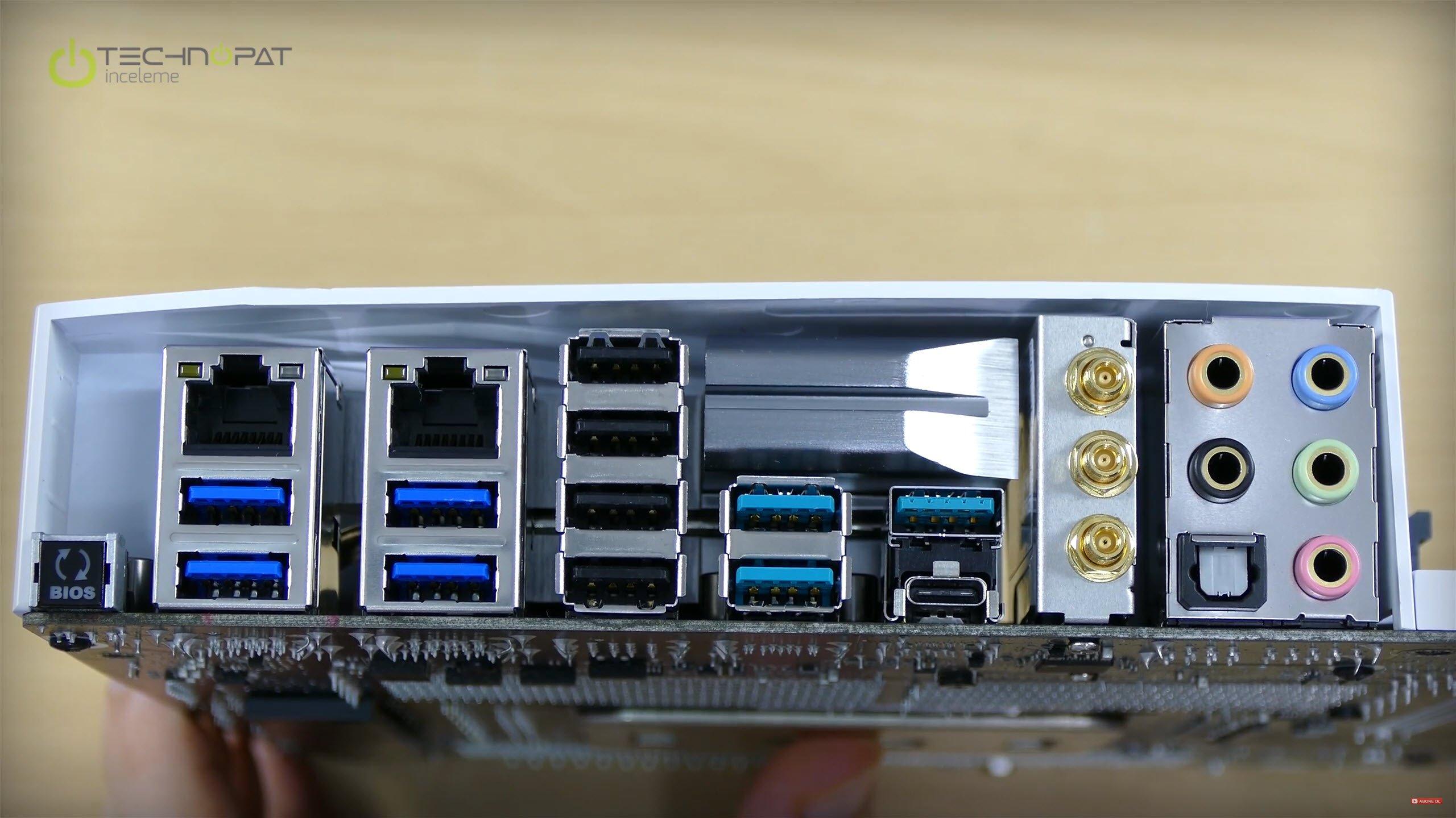 X99 Deluxe 2 portları