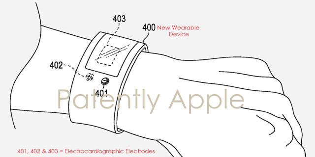 Apple giyilebilir cihaz patenti