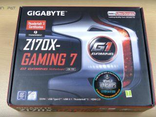 Gigabyte Z170X Gaming 7 İncelemesi: Kutu tasarımı