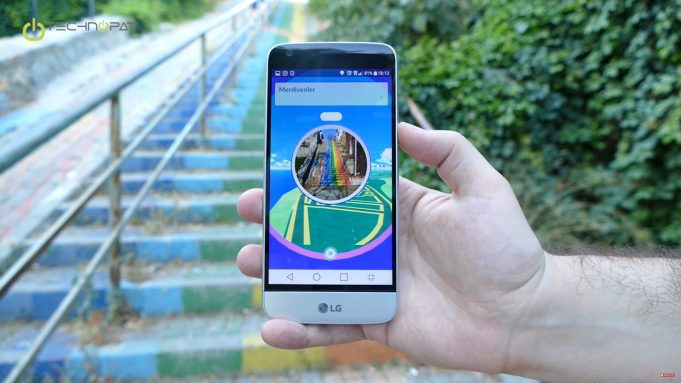 LG G5 ile Pokemon Go Oynuyoruz