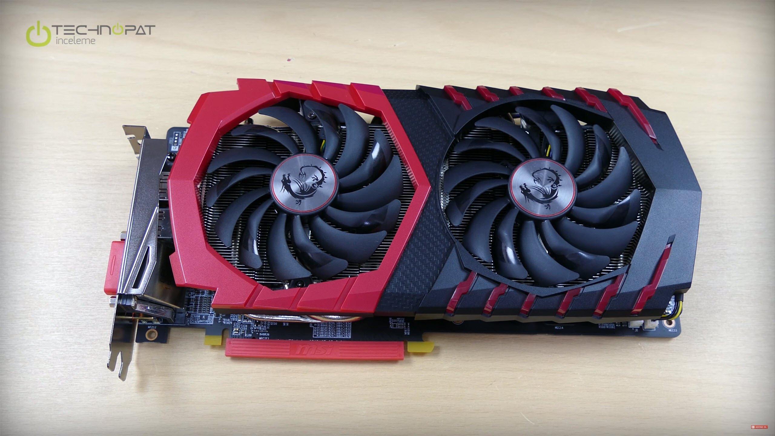 MSI RX 470 Gaming X 4G İncelemesi: Kırmızı siyah tasarım
