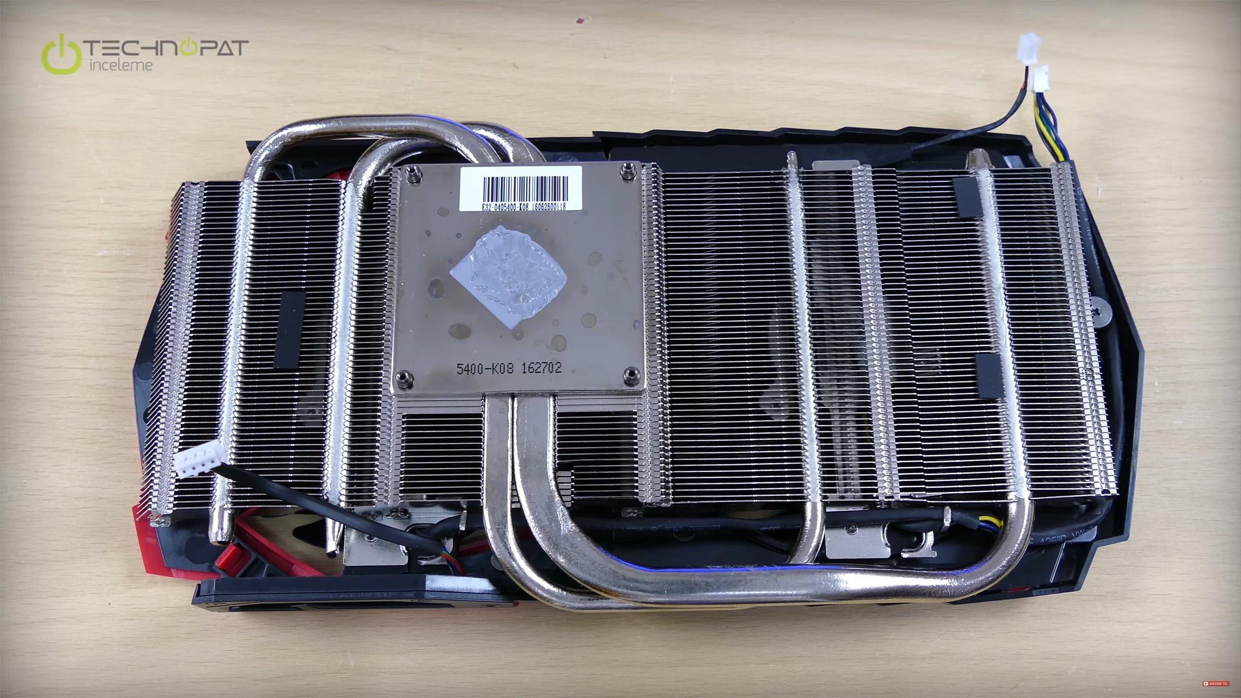 MSI RX 470 Gaming X 4G İncelemesi: Twin Frozr VI soğutma sistemi