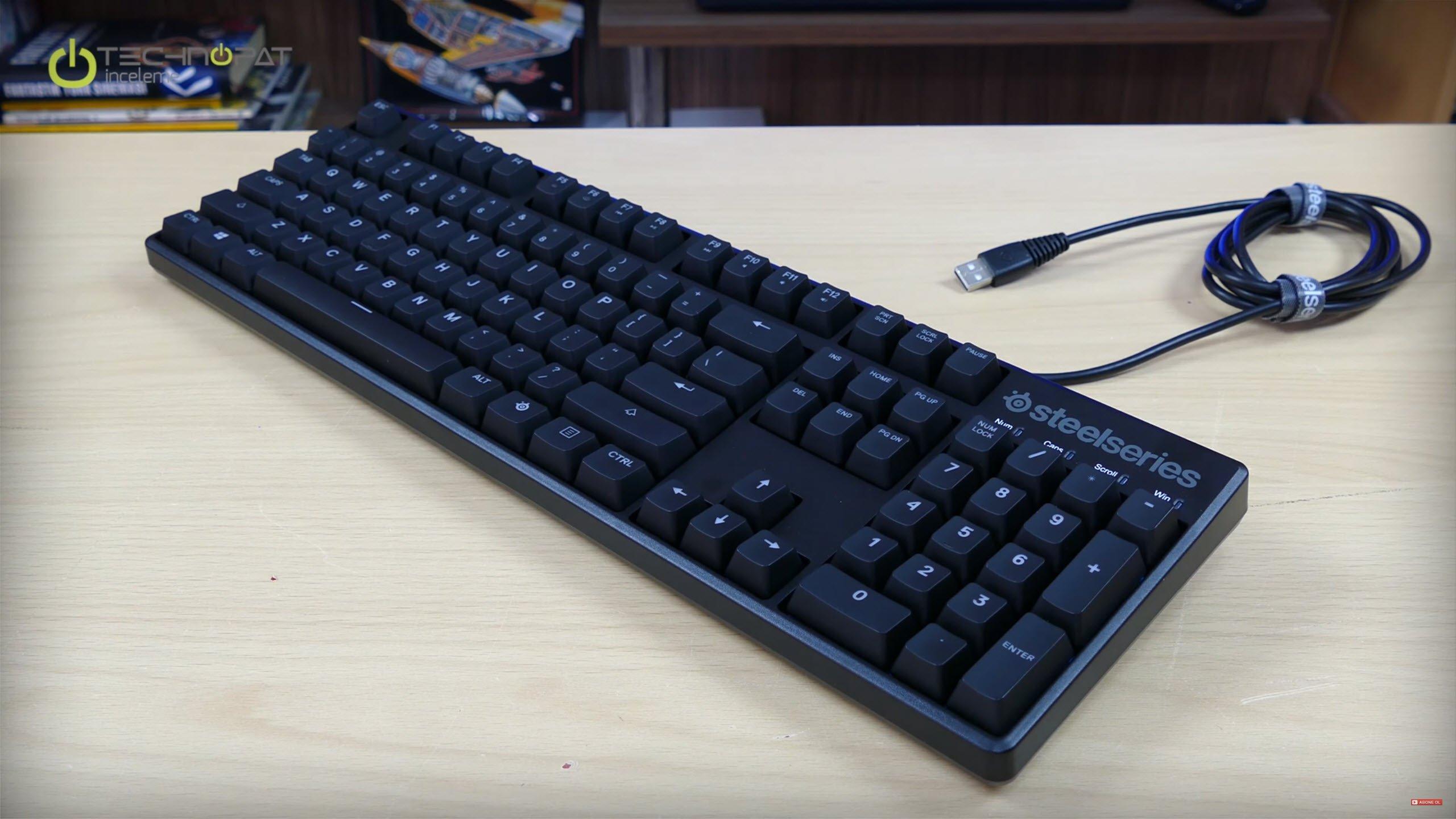SteelSeries Apex M500 Mekanik Oyuncu Klavyesi İncelemesi