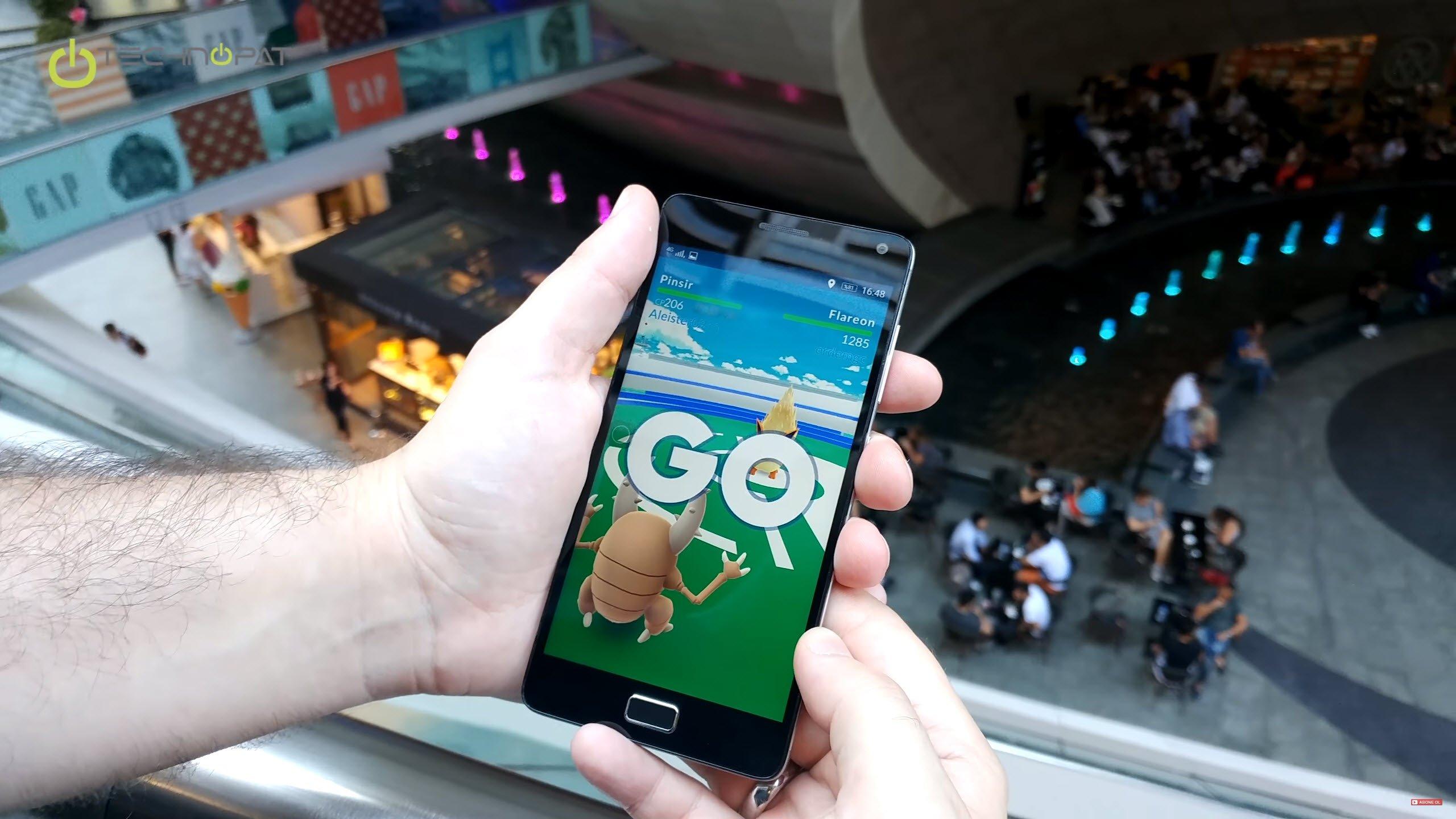 Lenovo Vibe P1 ile Pokemon Go Oynuyoruz