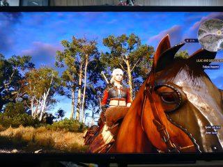 Witcher 3 gibi oyunlar bu renk farkını daha iyi gösteriyor