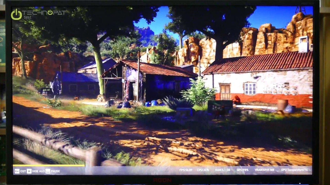GTX 1080 Ti Ghost Recon Wildlands Performansı