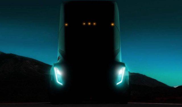 Tesla Semi Seri Üretim