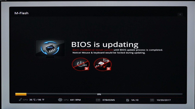 MSI Z370 BIOS Güncelleme Rehberi