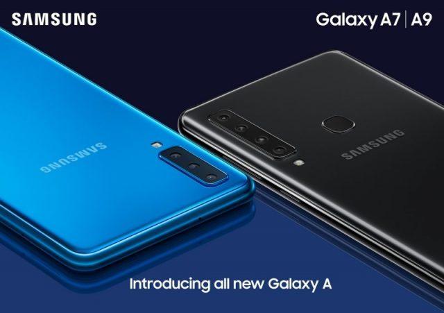 Samsung, Galaxy A9 Ve A7 Telefonlarını Resmen Tanıttı ...