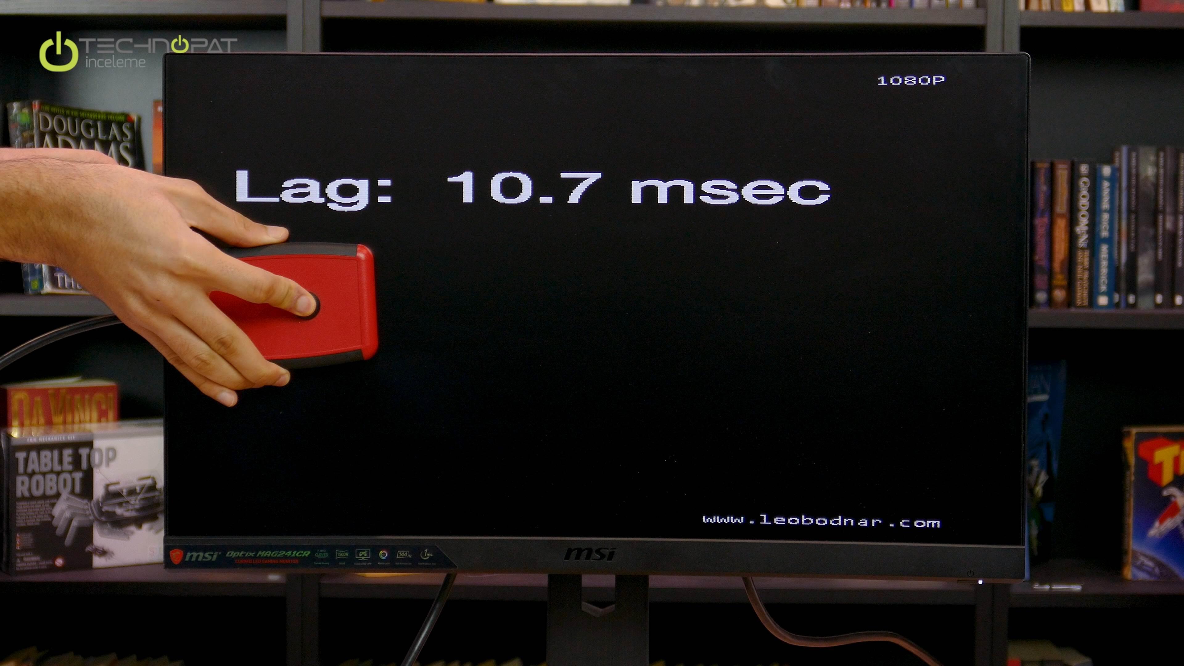 MSI Optix MAG241CR Oyuncu Monitörü İncelemesi - Technopat