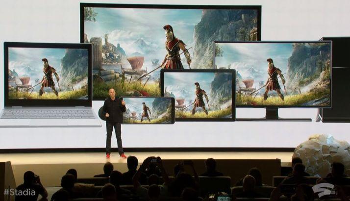 Yeni bulut oyun platformu Google Stadia